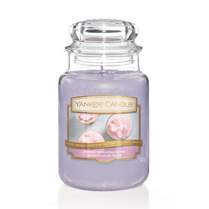 Yankee Candle Sweet Morning Rose Large Jar