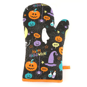 Pumpkins and Potions Single Oven Glove