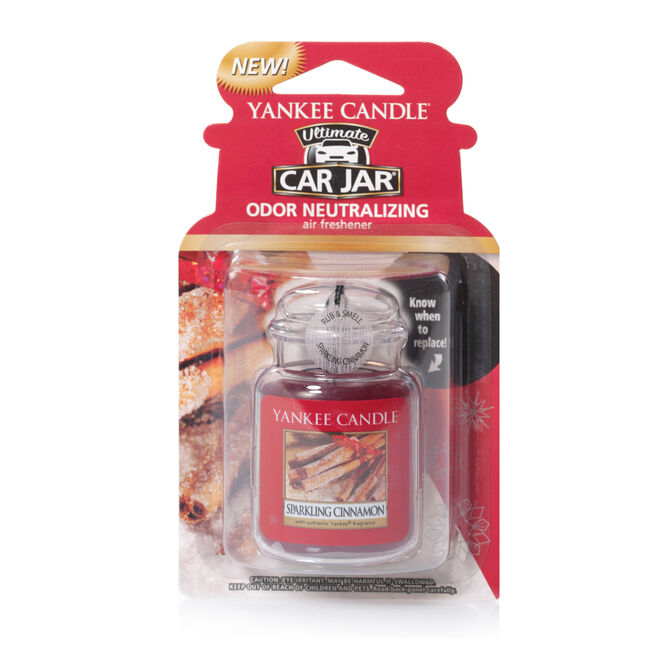 Yankee Candle Sparkling Cinnamon Car Jar