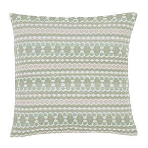 Summer Geo Green Cushion 45cm x 45cm