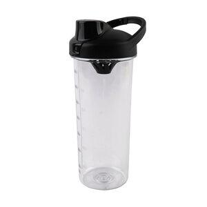 BodyGo Tritan Protein Shaker Bottle Black 700ml