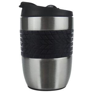 Body Go Silver Stainless Steel Travel Mug 260ml