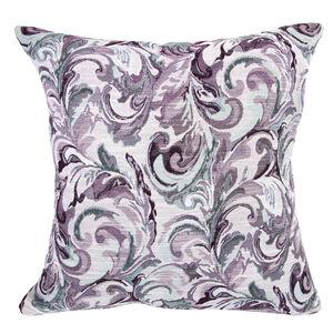 Mary Leaf Purple Cushion 58cm x 58cm