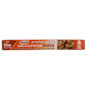 Sealapack Premium Greaseproof Paper 10m