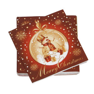 Merry Christmas Napkins 20 Pack