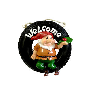 Novelty Welcome Gnome
