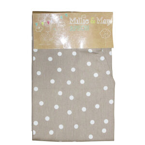 Polka Dot Apron - Natural