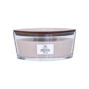 Woodwick Vanilla & Sea Salt Elipse Jar Candle