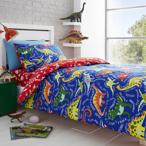 Dino Facts Duvet Cover