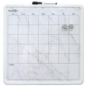 Month Marble Organiser Magnetic Whiteboard