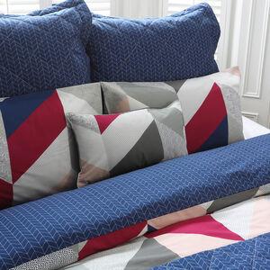 Urban Arrow Navy/Berry Cushion 30cm x 50cm