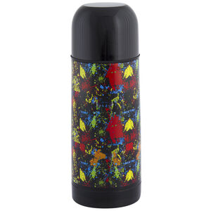 Jelly Childrens Splatter Black Vacuum Flask 035L