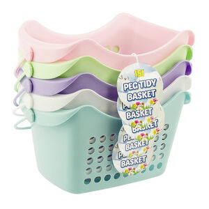 Pastel Peg Tidy Basket