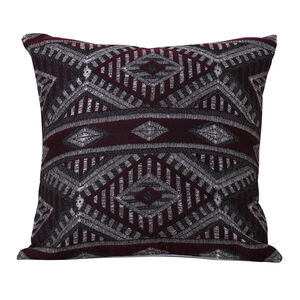 Tribal Cushion 58 x 58cm - Plum
