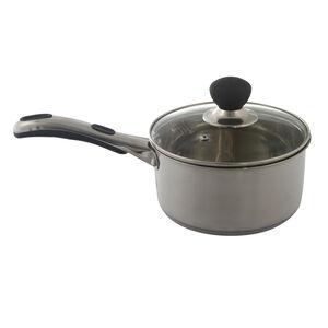 Easy Grip 18cm Saucepan with Lid
