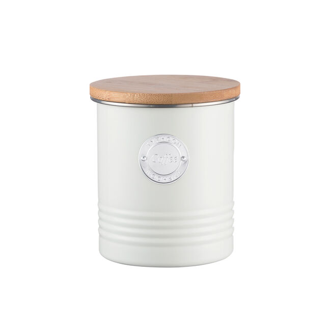 Typhoon Living Coffee Canister 1L - Cream