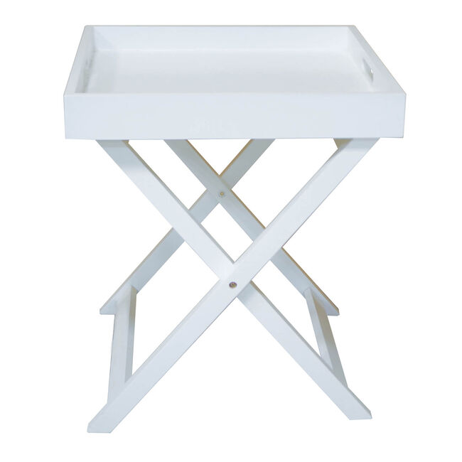 Butlers Small White Table Tray