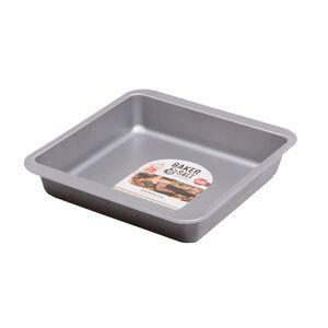 Baker & Salt Silver 23cm Brownie Tin
