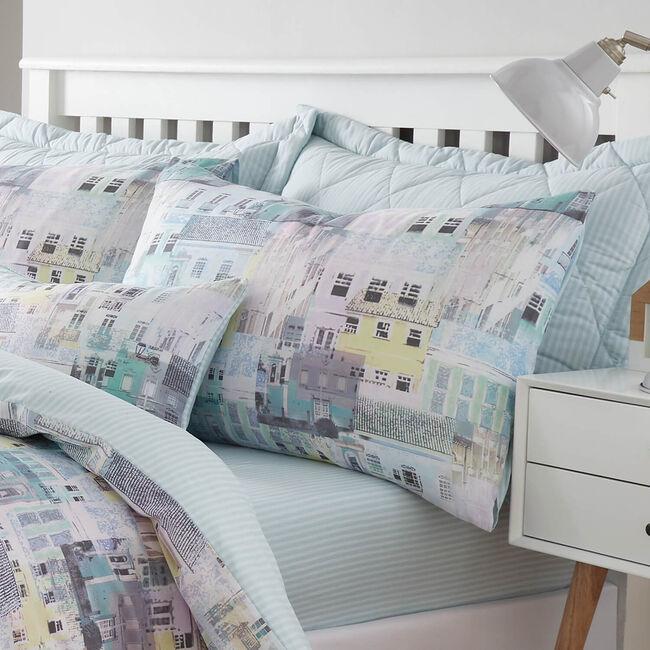 Houses Oxford Pillowcase Pair