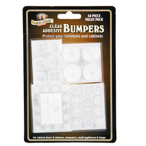 Clear Bumpers 48 Pack