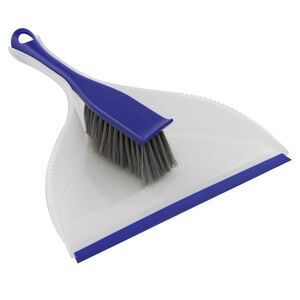 Gleam Clean Dustpan & Brush Set