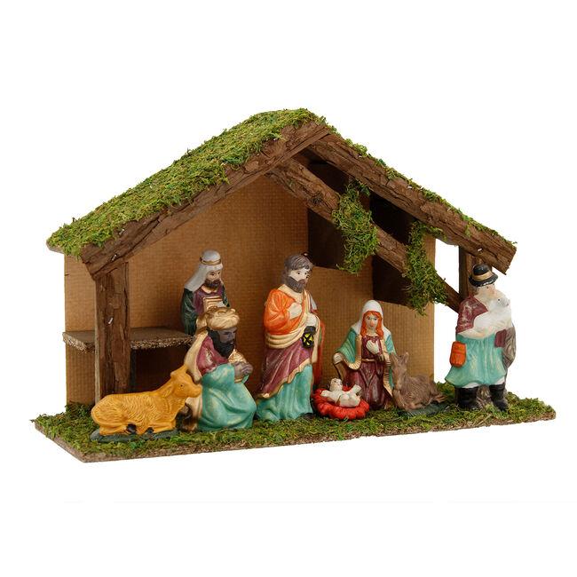 Christmas Nativity Stable Set