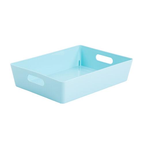 Studio Rectangular Basket 6L - Duck Egg Blue