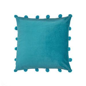 Large Bobble Cushion 45x45cm - Teal