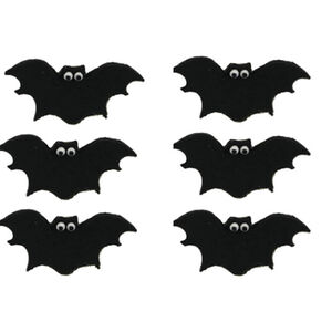 Halloween Bat Handmade Icing Cake Toppers
