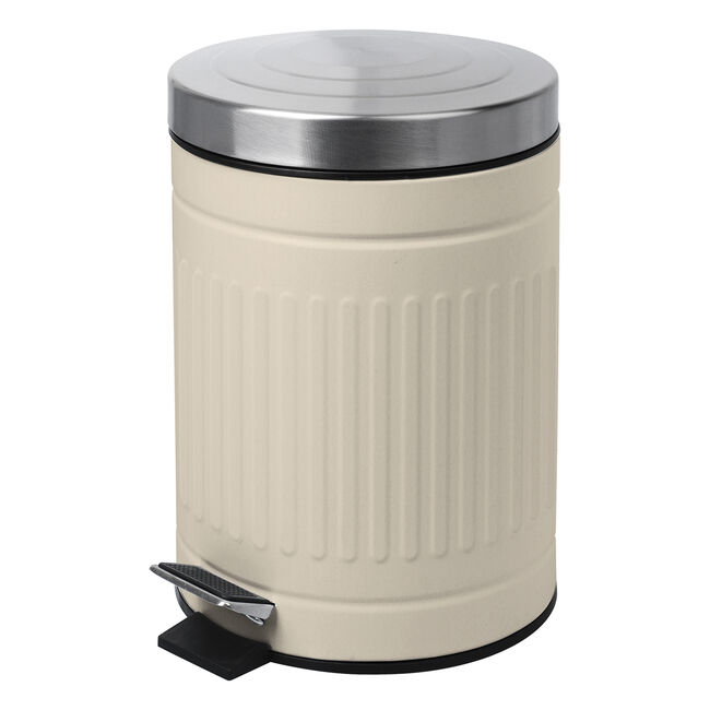 Renzo 3 Litres Trash Can Cream