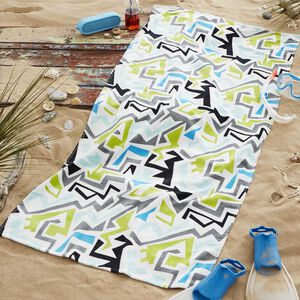 Nicole Day Grunge Beach Towel