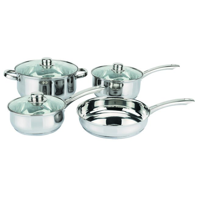 Dynamic Everyday 4 Piece Cookware Set
