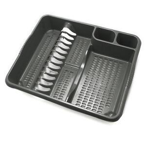 Large Dish Drainer Grey