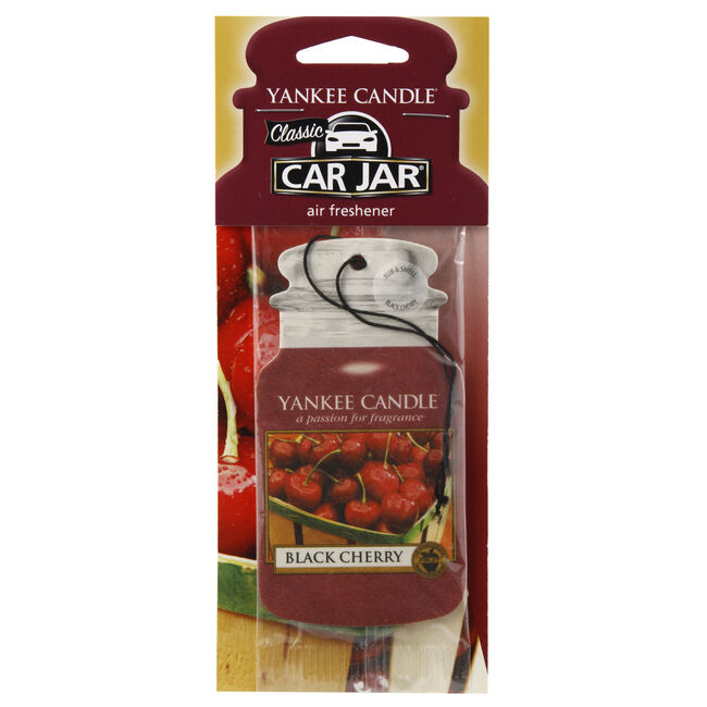 Yankee Candle Black Cherry Car Jar