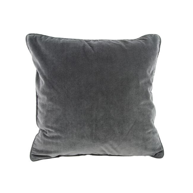 Naomi Charcoal Cushion 45cm x 45cm