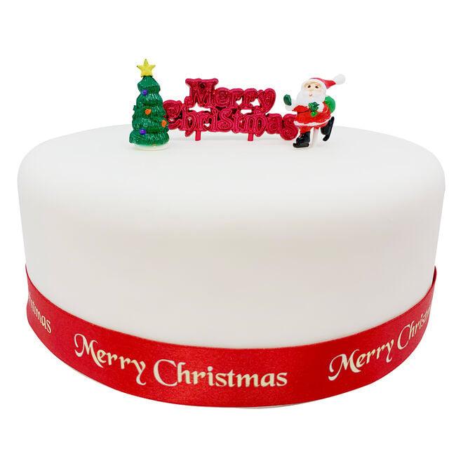 Cutie Santa Scene Cake Decorating Kit