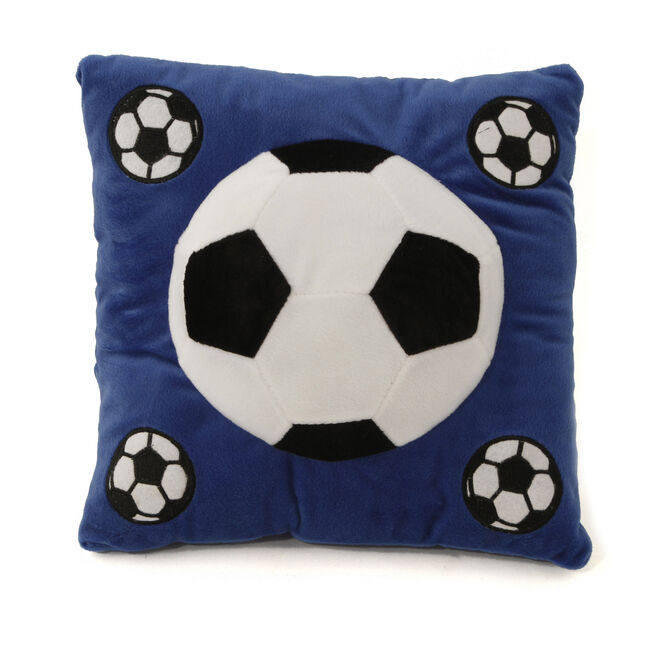 Football Cushion Blue 40cm x 40cm