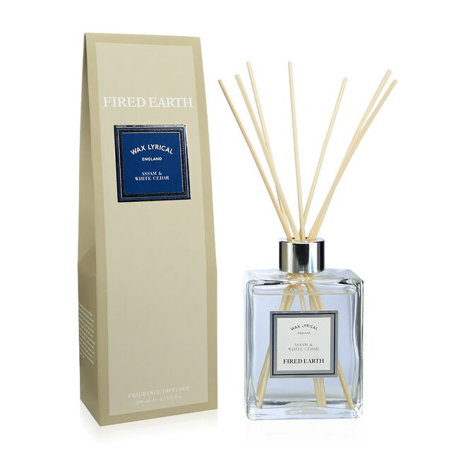 Wax Lyrical Assam & White Cedar Reed Diffuser