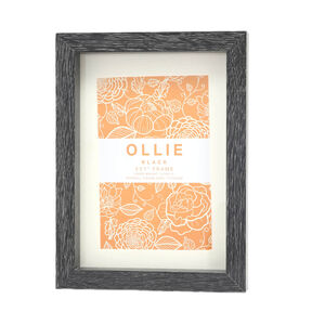 "Ollie Photo Frame 5x7"" - Black"