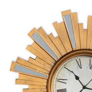 Artdeco Clock W/Mirrors 20