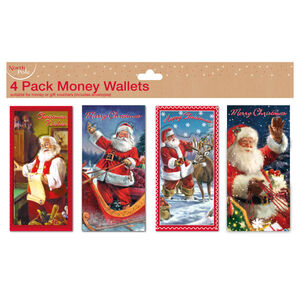 Money Wallets 4 Pack