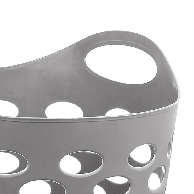 Flexible Laundry Hamper - Dark Grey