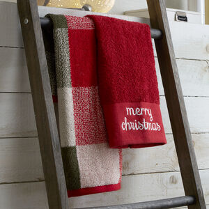 Merry Christmas Guest Towels - 2 Pack