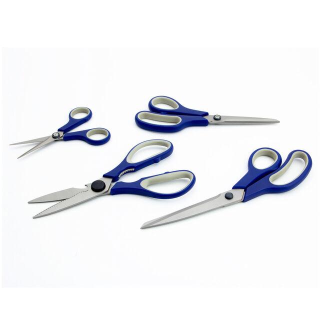 Tuffsteel Titanium Scissors Set of 4
