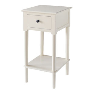 Holly Cream 1 Drawer Locker