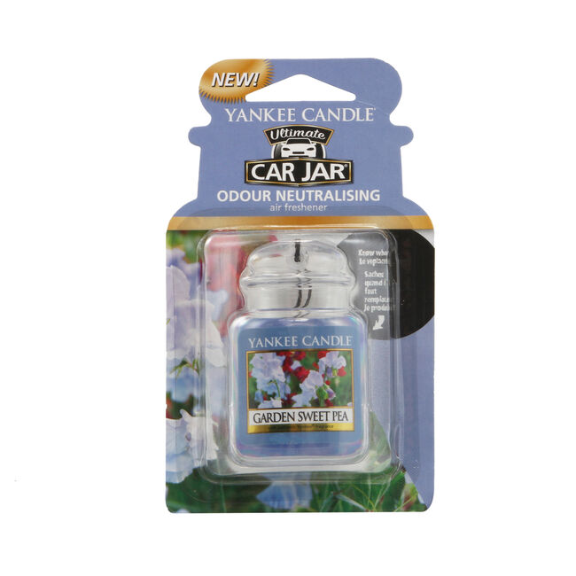 Yankee Candle Garden Sweet Pea Car Jar