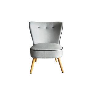 Bella Soft Grey Accent Chair