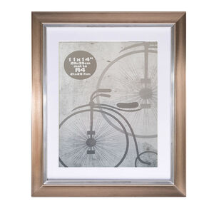 A4 Metallic Silver Photo Frame