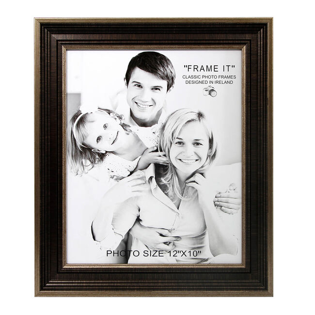 Antique Bronze Slim Photo Frame 10x12""
