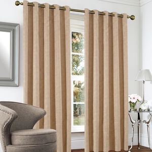 BLACKOUT & THERMAL BASKETWEAVE WICKER 66x54Curtain